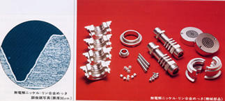 Electroless nickel-phosphorus plating